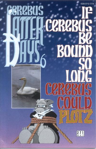 Cover for Cerebus (Aardvark-Vanaheim, 1977 series) #271