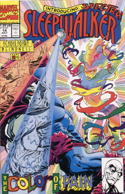 Cover for Sleepwalker (Marvel, 1991 series) #14