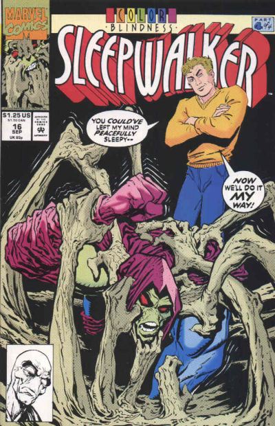 Cover for Sleepwalker (Marvel, 1991 series) #16