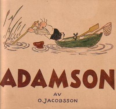 Cover for Adamson (Åhlén & Åkerlunds, 1921 series) #1948