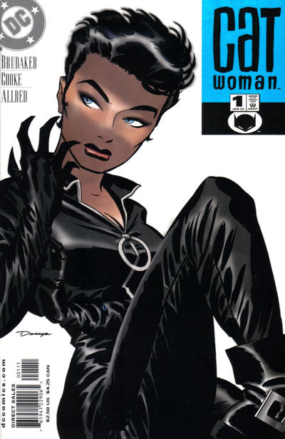 Cover for Catwoman (DC, 2002 series) #1