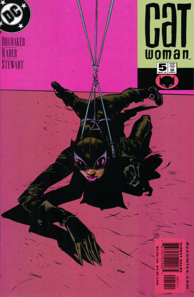 Cover for Catwoman (DC, 2002 series) #5