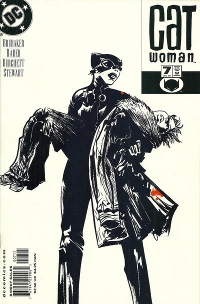 Cover for Catwoman (DC, 2002 series) #7