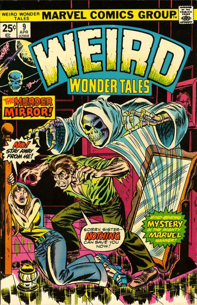 Cover for Weird Wonder Tales (Marvel, 1973 series) #9