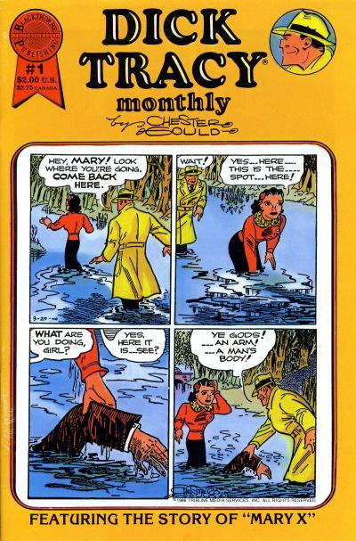 Cover for Dick Tracy Monthly (Blackthorne, 1986 series) #1
