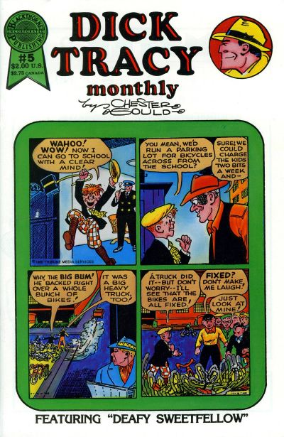 Cover for Dick Tracy Monthly (Blackthorne, 1986 series) #5