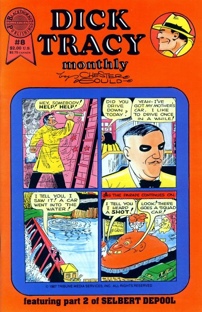 Cover for Dick Tracy Monthly (Blackthorne, 1986 series) #8