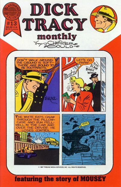Cover for Dick Tracy Monthly (Blackthorne, 1986 series) #13
