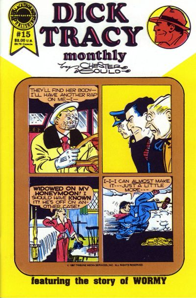 Cover for Dick Tracy Monthly (Blackthorne, 1986 series) #15