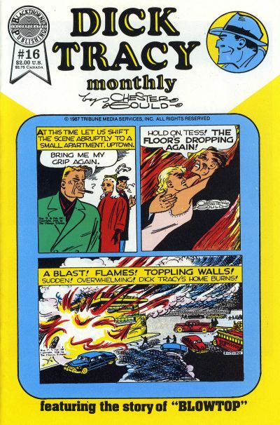 Cover for Dick Tracy Monthly (Blackthorne, 1986 series) #16