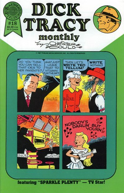 Cover for Dick Tracy Monthly (Blackthorne, 1986 series) #18