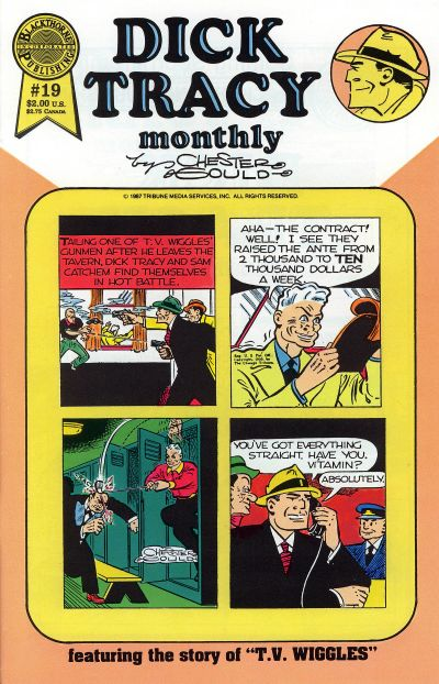 Cover for Dick Tracy Monthly (Blackthorne, 1986 series) #19