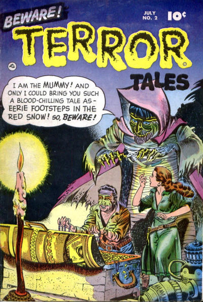 Cover for Beware! Terror Tales (Fawcett, 1952 series) #2