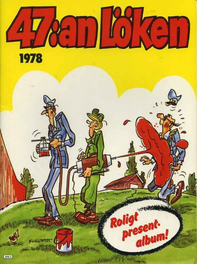 Cover for 47:an Löken [julalbum] (Semic, 1977 series) #1978