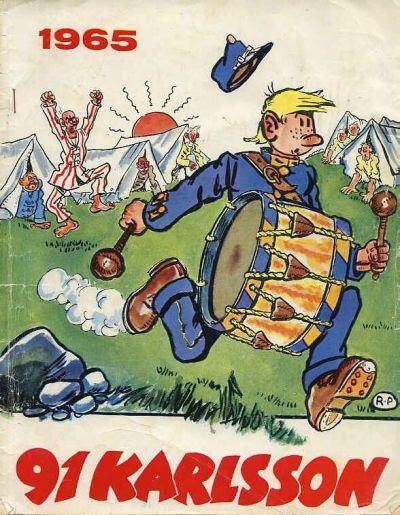 Cover for 91 Karlsson [julalbum] (Semic, 1965 ? series) #1965