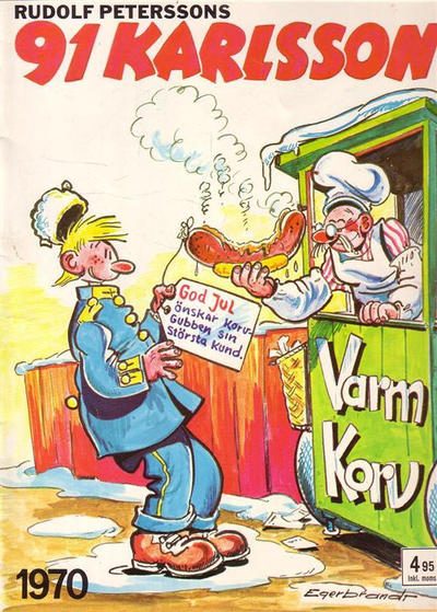 Cover for 91 Karlsson [julalbum] (Semic, 1965 ? series) #1970