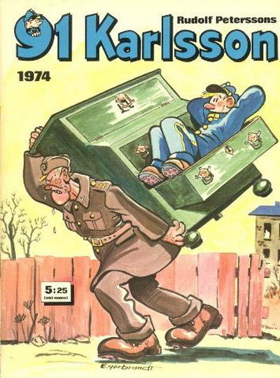 Cover for 91 Karlsson [julalbum] (Semic, 1965 ? series) #1974
