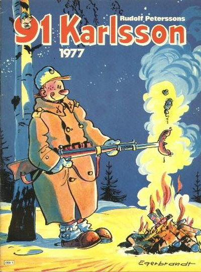 Cover for 91 Karlsson [julalbum] (Semic, 1965 ? series) #1977