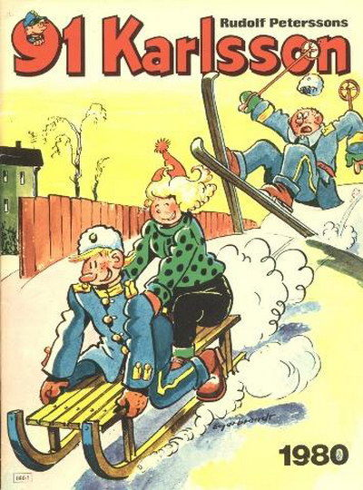 Cover for 91 Karlsson [julalbum] (Semic, 1965 ? series) #1980
