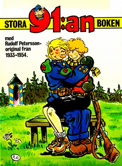 Cover for 91:an - stora 91:an-boken (Semic, 1975 series) #[inbunden]