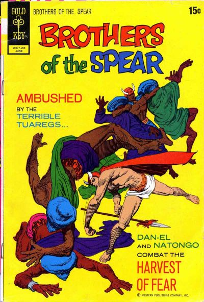 Cover for Brothers of the Spear (Western, 1972 series) #1