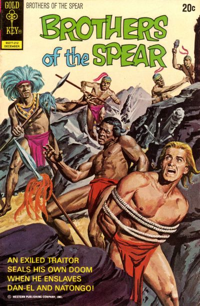 Cover for Brothers of the Spear (Western, 1972 series) #3