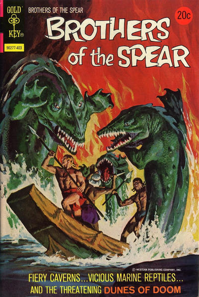 Cover for Brothers of the Spear (Western, 1972 series) #8