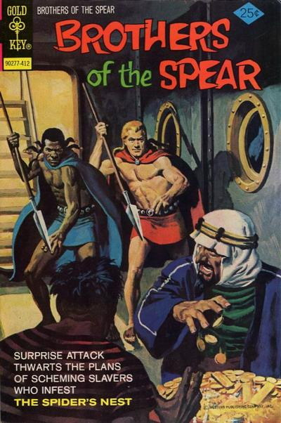 Cover for Brothers of the Spear (Western, 1972 series) #11 [Gold Key]