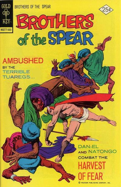 Cover for Brothers of the Spear (Western, 1972 series) #12 [Gold Key Variant]