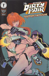Cover Thumbnail for The Dirty Pair: Run from the Future (Dark Horse, 2000 series) #2 [Alternate]