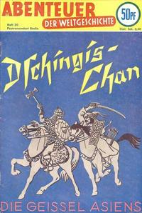 Cover Thumbnail for Abenteuer der Weltgeschichte (Lehning, 1953 series) #30