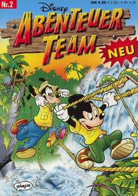 Cover Thumbnail for Abenteuer Team (Egmont Ehapa, 1996 series) #2
