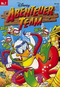 Cover for Abenteuer Team (Egmont Ehapa, 1996 series) #7