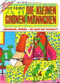 Cover for Die kleinen grünen Männchen (Condor, 1983 series) #15