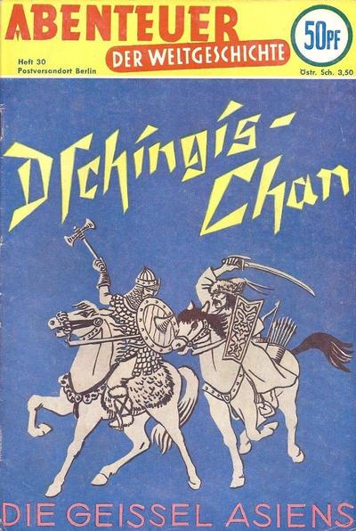 Cover for Abenteuer der Weltgeschichte (Lehning, 1953 series) #30