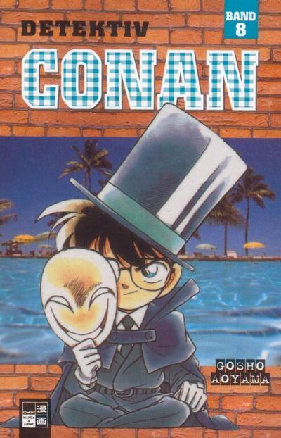 Cover for Detektiv Conan (Egmont Ehapa, 2001 series) #8
