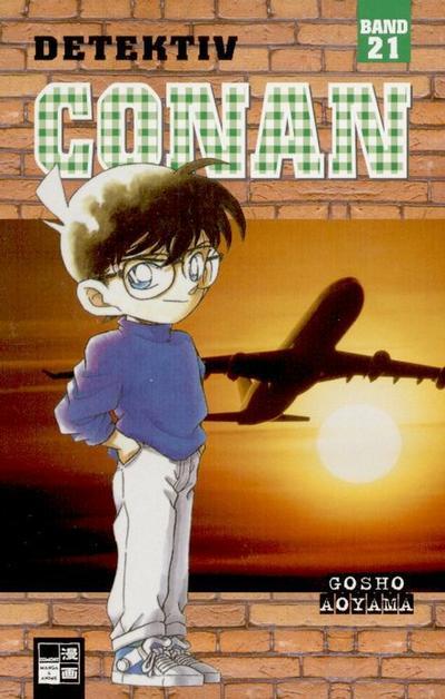 Cover for Detektiv Conan (Egmont Ehapa, 2001 series) #21