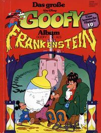 Cover Thumbnail for Das große Goofy Album (Egmont Ehapa, 1977 series) #10 - Goofy als Frankenstein