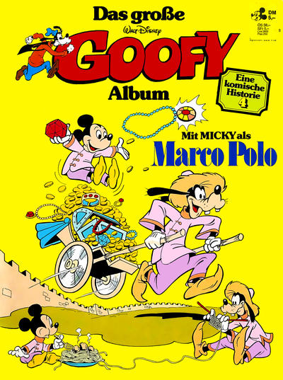 Cover for Das große Goofy Album (Egmont Ehapa, 1977 series) #4