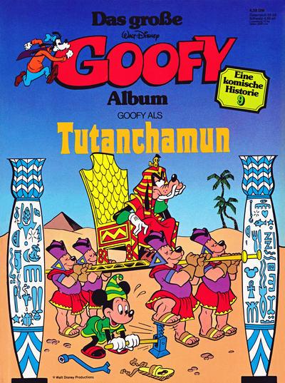 Cover for Das große Goofy Album (Egmont Ehapa, 1977 series) #9
