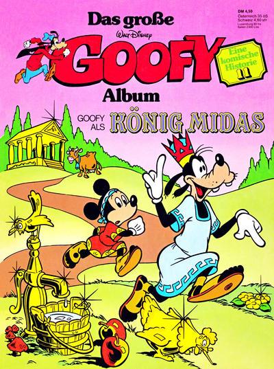 Cover for Das große Goofy Album (Egmont Ehapa, 1977 series) #11