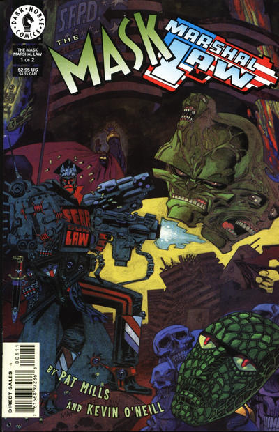 Cover for The Mask / Marshal Law (Dark Horse, 1998 series) #1