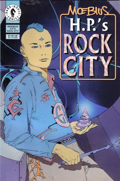 Cover for Moebius: H.P.'s Rock City (Dark Horse, 1996 series)