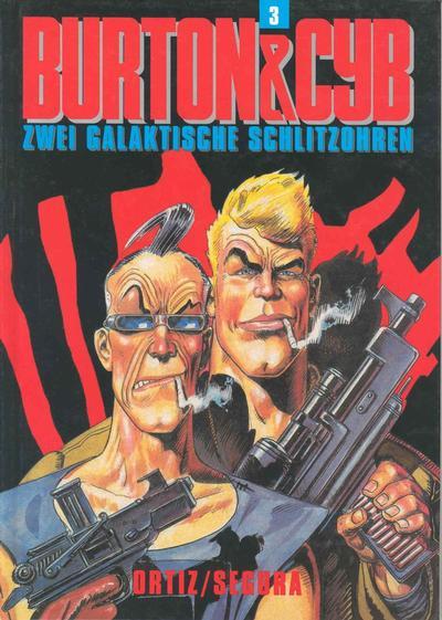 Cover for Schwermetall präsentiert (Kunst der Comics / Alpha, 1986 series) #68 - Burton & Cyb 3