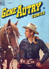 Cover Thumbnail for Gene Autry Comics (Wilson Publishing, 1948 ? series) #36