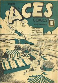 Cover Thumbnail for Three Aces Comics (Anglo-American Publishing Company Limited, 1941 series) #v2#10