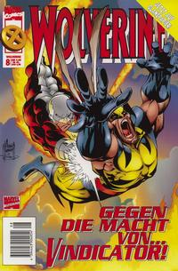 Cover Thumbnail for Wolverine (Panini Deutschland, 1997 series) #8