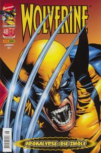 Cover Thumbnail for Wolverine (Panini Deutschland, 1997 series) #48