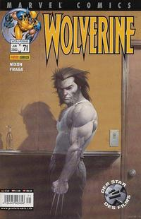 Cover Thumbnail for Wolverine (Panini Deutschland, 1997 series) #71