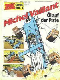 Cover Thumbnail for Zack Comic Box (Koralle, 1972 series) #1 - Michel Vaillant  - Öl auf der Piste
